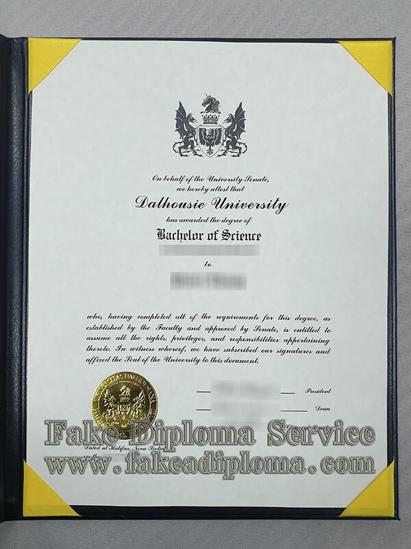 Dalhousie University fake diploma, Dalhousie University fake degree certificate