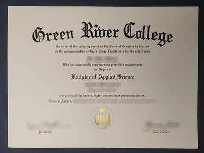 Buy a Green River College Diploma Online(GRC Degree)