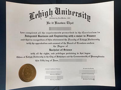 How to Buy a Fake Lehigh University Diploma Online?