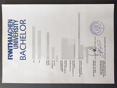 RWTH Diploma, Rheinisch-Westfälische Technische Hochschule Aachen Diplom