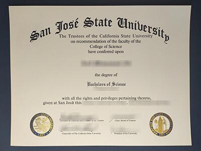 SJSU Diploma, Buy San Jose State University Diplomas