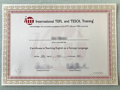 TEFL Certificate, Teaching English as a Foreign Language Certificate