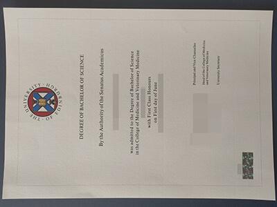 How to Get The University of Edinburgh Fake Diploma Details