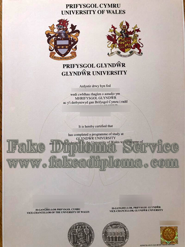 The University of Wales diploma