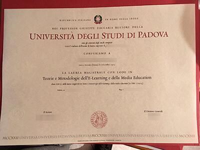 How to Get A Università degli Studi di Padova diploma Online