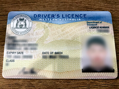 Steps to buying a Western Australia Driver's Licence