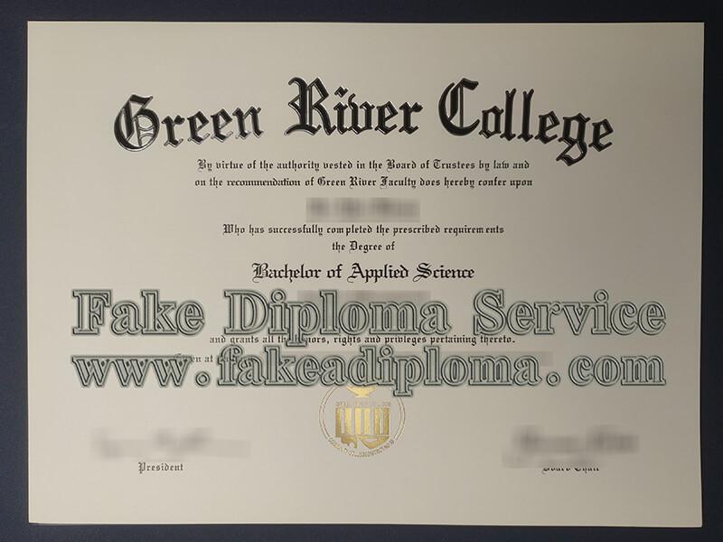 Green River College diploma, GRC degree