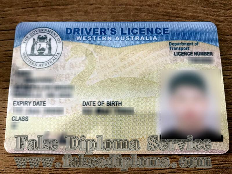 Western Australia Driver's Licence