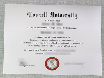Steps to Order A Fake Cornell university Diploma online