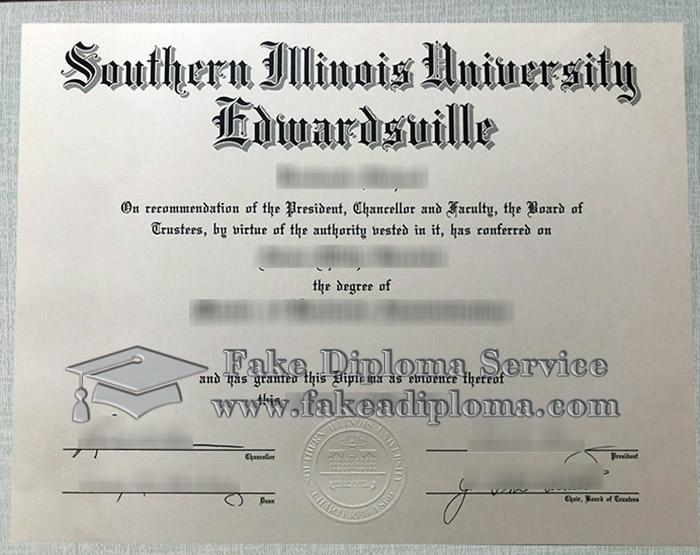 Southern Illinois University-Edwardsville diploma, Southern Illinois University-Edwardsville degree, fake SIUE diploma,