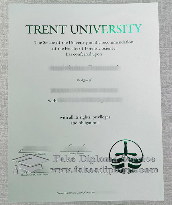 Trent University diploma, Trent University degree, fake Trent University certificate,
