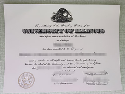 How Long It Takes to Get A Fake University of Illinois at Chicago Diploma