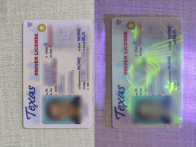 Surprising way to get a scanable fake Texas driver license