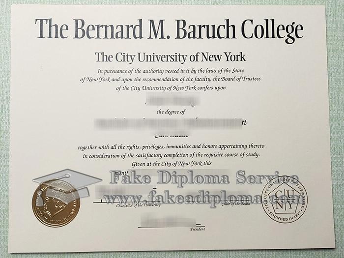 fake Baruch College degree, buy Baruch College diploma, CUNY Baruch College diploma,