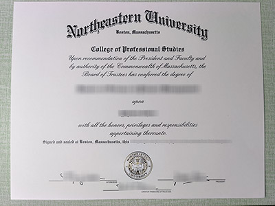 Myths about getting a fake Northeastern University diploma in America