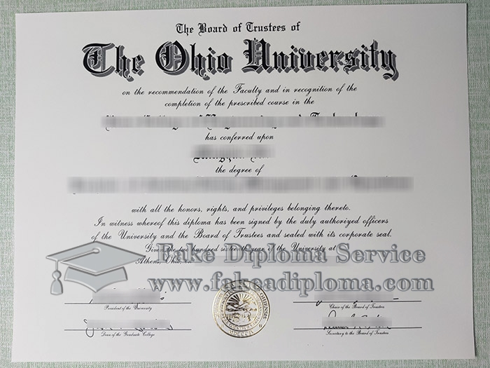 Ohio University diploma, buy Ohio University degree, fake Ohio University certificate,