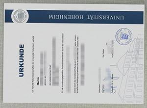 What's the price to make a fake Universität Hohenheim urkunde?