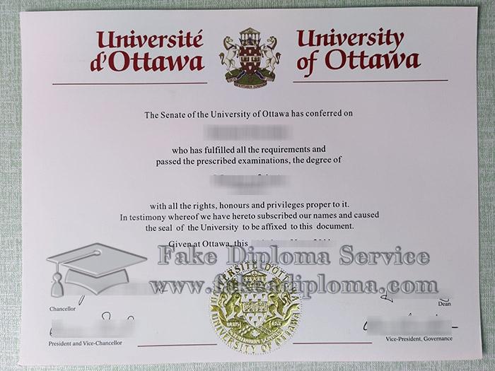 University of Ottawa degree, University of Ottawa diploma, fake University of Ottawa,