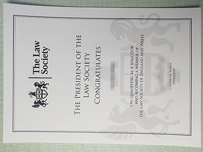 Steps to Get A The Law Society Certificate, Buy Fake Certificate in Law