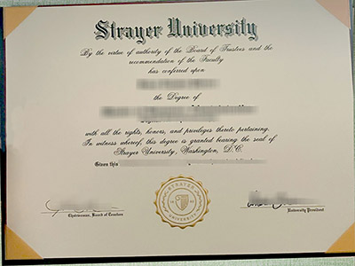 Ways to Get High Quality Fake Strayer University Diploma