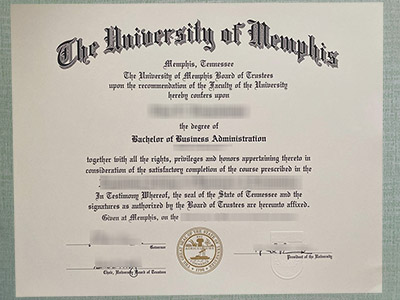 Key Points to Make A Fake University of Memphis Diploma
